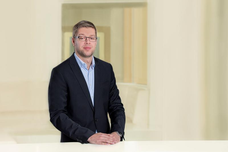 Martin Assmann in der Agentur