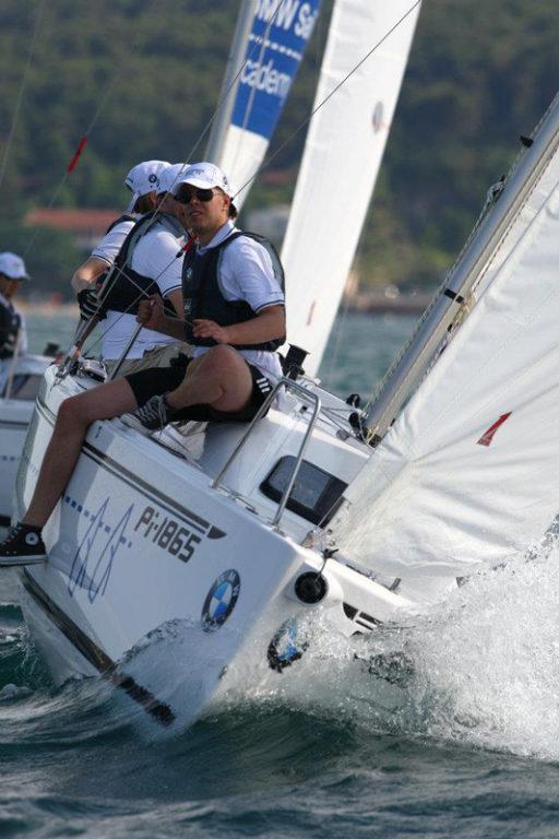 Martin Assmann auf Segelschiff
